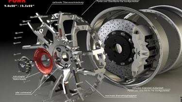 Wheelsandmore McLaren 720S – Felge wheels