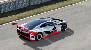 Audi e-tron Vision Gran Turismo rear quarter