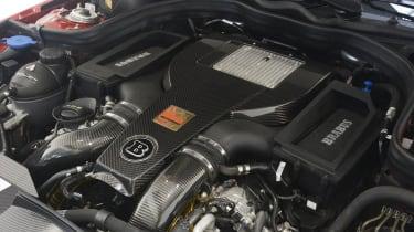 Brabus 850 Biturbo engine