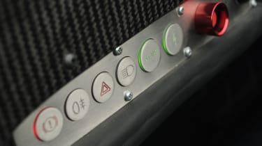 Caparo T1 dashboard
