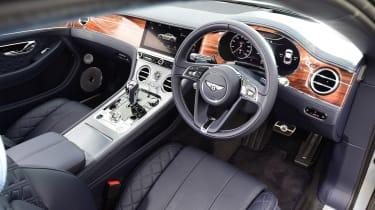 Bentley Continental GT UK drive - interior