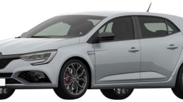 2018 Renault Sport Megane patent rendering - Front