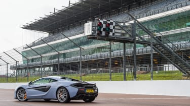 McLaren 570S Track Pack - rear three quarter