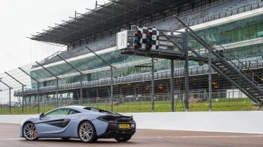 McLaren 570S Track Pack - rear three quarter