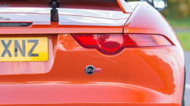 Jaguar F-Type SVR Convertible - rear