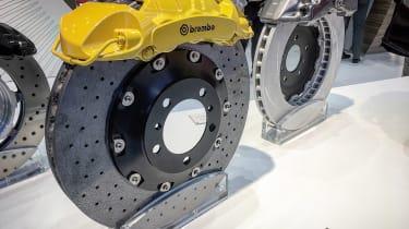 Brembo carbon ceramic brake disc - 2017 Frankfurt motor show