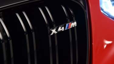 BMW X4 M grille