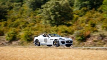 Jaguar F-Type Project 7 - white again