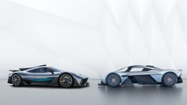 Hypercar Face Off Mercedes Amg Project One Vs Aston Martin Valkyrie Evo