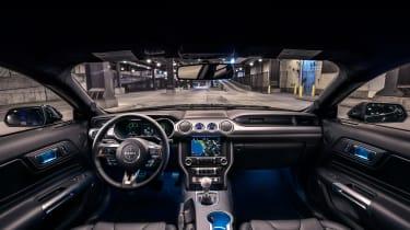 Ford Mustang Bullitt – dashboard