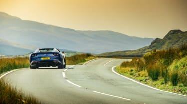 Ferrari 812 GTS TDF blue - rear