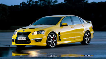 New Vauxhall VXR8 sports saloon