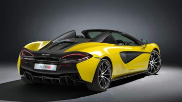 McLaren 570S Spider - rear roof down