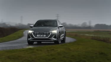 Audi e-tron S Sportback - front