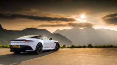 Aston Martin DBS Superleggera drive - rear quarter