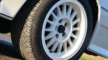 Audi Quattro - wheels