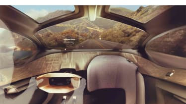 Jaguar Future Type interior