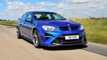 Vauxhall VXR8 GTS-R blue - UK car