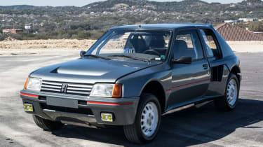 Peugeot 205 T16 PTS Clubman – front quarter