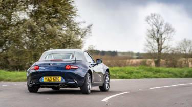 Mazda MX-5 Sport Venture - rear cornering