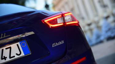 Maserati Ghibli S – rear light