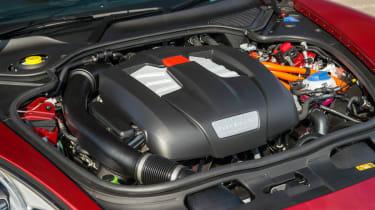 Porsche Panamera S E-Hybrid V6 petrol engine