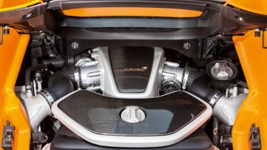 McLaren 12C Spider – engine