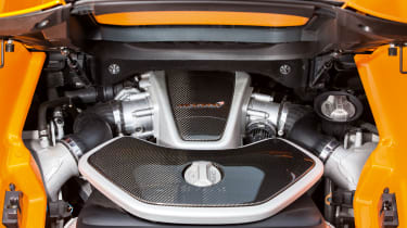 McLaren 12C Spider – engine