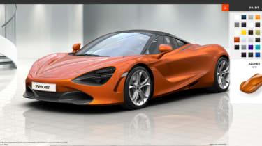 McLaren 720S - Configurator