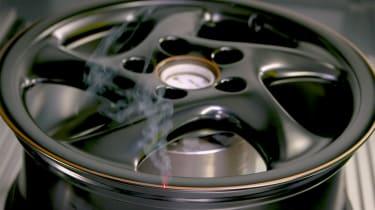 Porsche Classic project gold laser