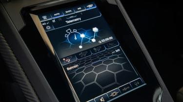 Lamborghini Huracan EVO silver - screen