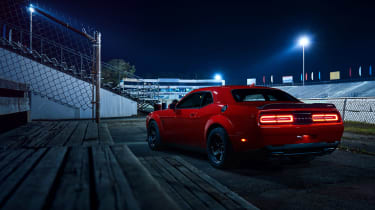 Dodge Demon night rear