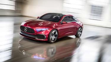 Mercedes-Benz Concept A Sedan front action
