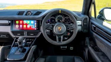 Porsche Cayenne Coupe Turbo GT – dash