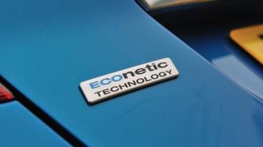 2013 Ford Fiesta Ecoboost badge