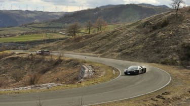 Lamborghini Aventador drift
