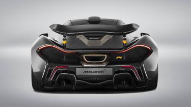 McLaren P1 MSO gold rear
