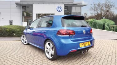 Volkswagen Golf R Mk6 - rear three quarter