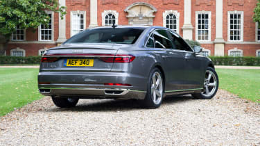 Audi A8 UK - rear quarter