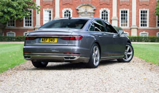 Audi A8 UK - rear quarter