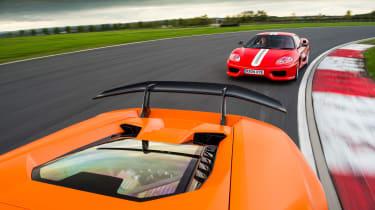 Lamborghini Huracan Performante & Ferrari 360 Challenge Stradale