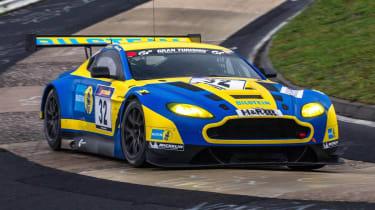Aston Martin V12 Vantage GT3 racing car N24