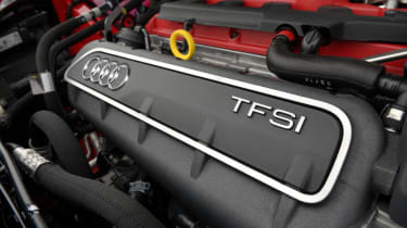 Audi RS Q3 2.5 turbo engine
