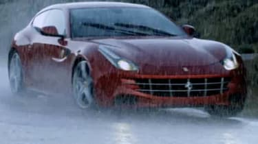 Ferrari FF - new pictures and video