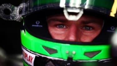 Nico Hülkenberg in the pits
