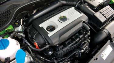 VW Scirocco 2.0-litre tsi engine