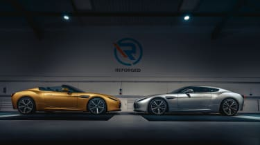 Aston Martin V12 Vantage Zagato R-Reforged side