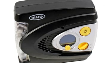 Ring 12v Preset Digital Air Compressor with LED Light RAC 635
