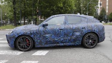 2022 Maserati Grecale Trofeo prototype – profile