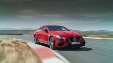 Mercedes-AMG GT63 S E Performance – front cornering